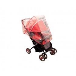 Bebek arabası yağmurluğu kırmızı
