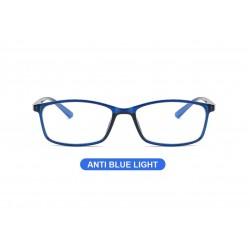 Blue cut gözlük, lacivert çerçeve