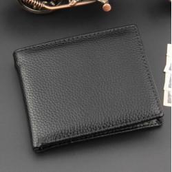Klasik ithal erkek cüzdan siyah