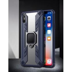 iPhone11 Pro Magnetic Armor mavi şeffaf