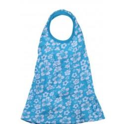 Bebek Çiçek Elbise Mavi 6 Aylık