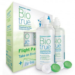 Bausch Lomb Bio True Flight Pack Lens Solüsyonu 2 x 60ml