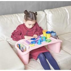 Çok amaçlı çocuk aktivite masası açık pembe