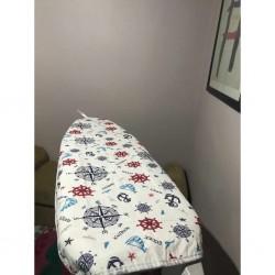 Keçeli lüks ütü masası örtüsü Denizci Desen